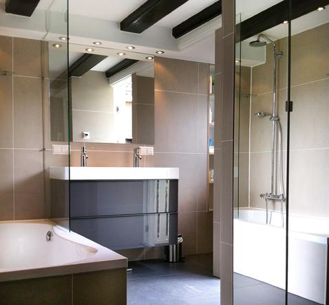 badkamer naarden vesting in monumentaal gebouw