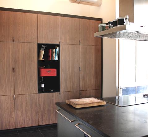 keukeninbouwkast wandkast op maat