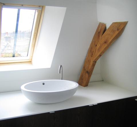 badkamer verbouwing zolder etage extra logeerruimte