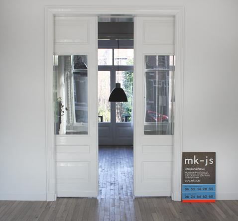 levering, restauratie op maat en plaatsing kamer ensuite deuren