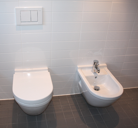 combinatie toilet en bidet