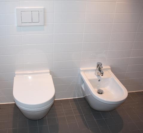 combinatie toilet en bidet