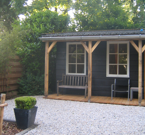tuinhuis veranda